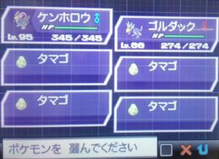 ポケットモンスターBW2「ポッチャマ、ヒコザル、ケイコウオ、フィオネの卵」.jpg